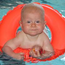 Schwimmkurs fuer Babys